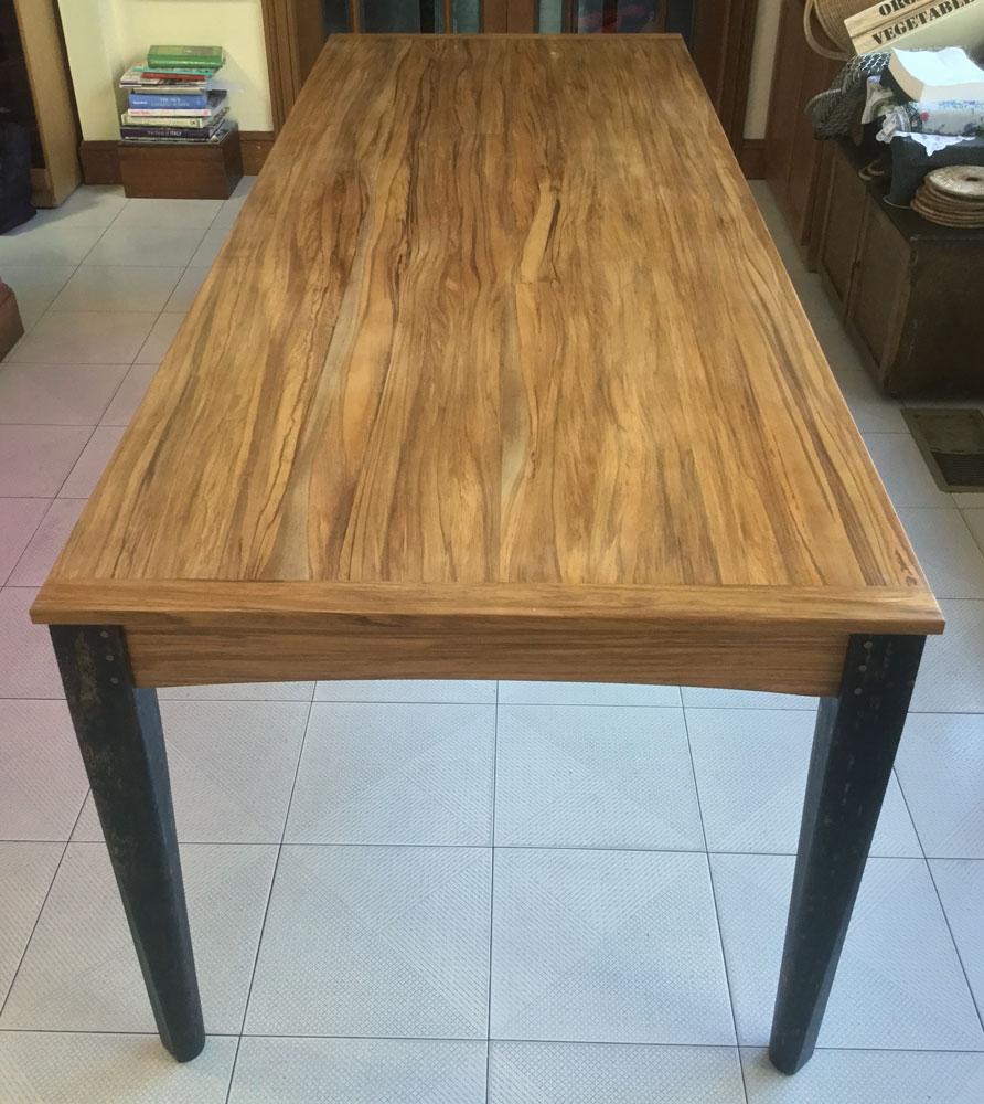 Phillip's custom dining table