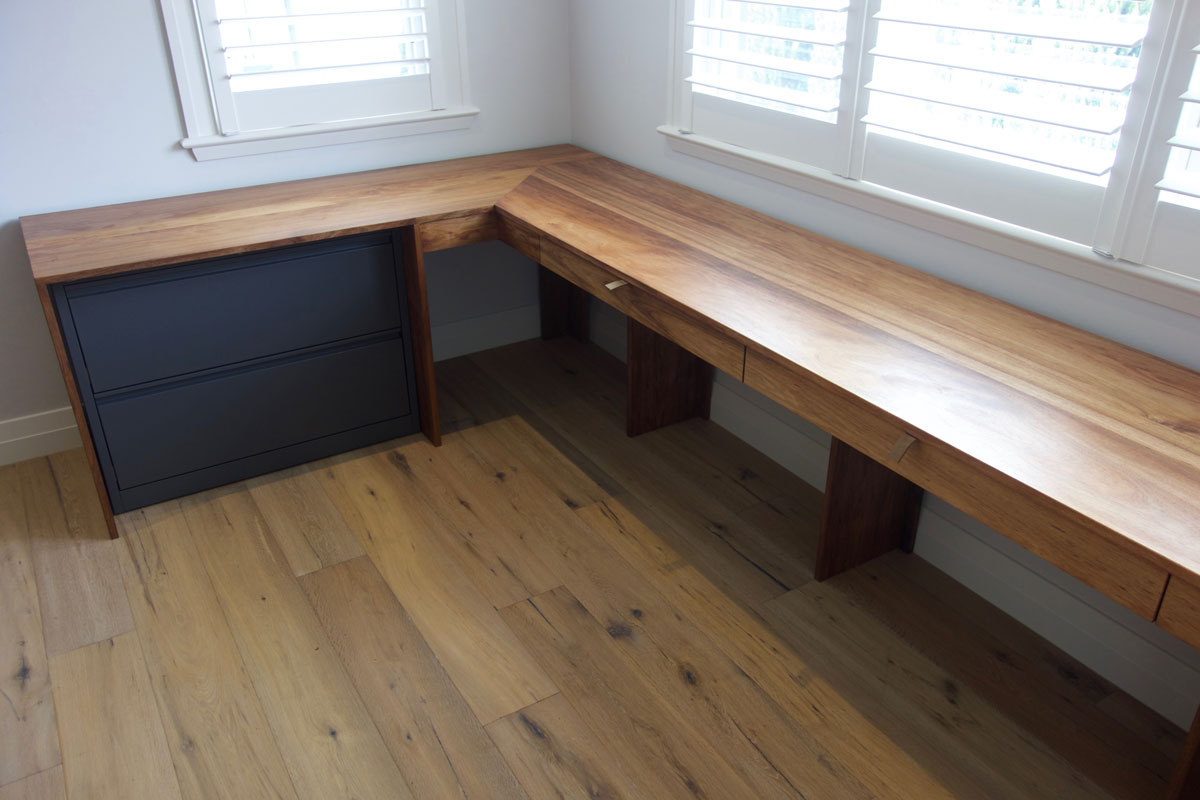 Rebecca's blackwood desk