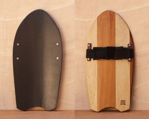 Paulownia and red cedar handplane