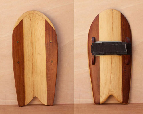 Paulownia and western red cedar handplane