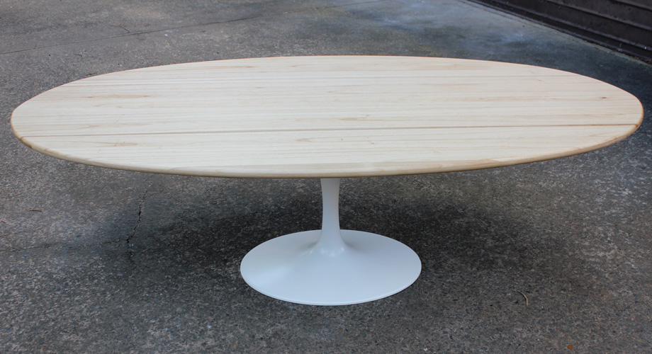 Hollow wooden table top